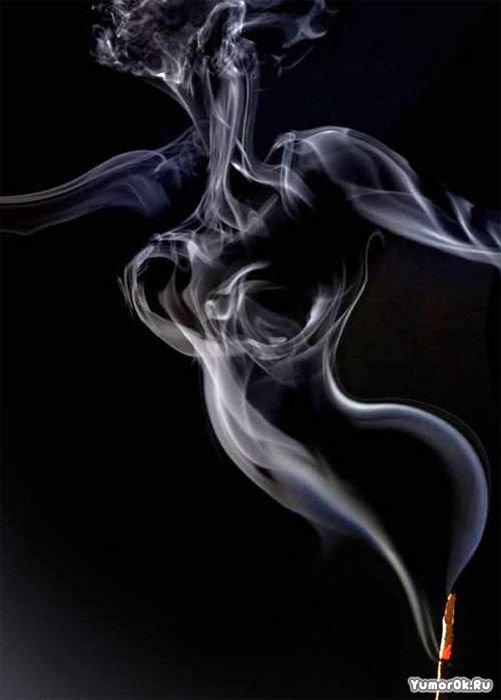 дым красивый фото