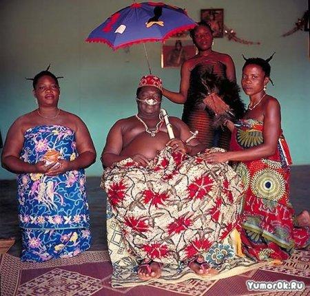 Фотографии королевских семей Африки