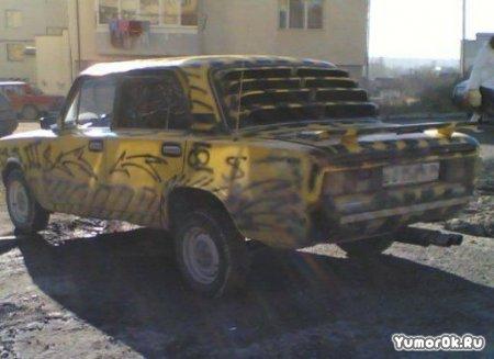 Тюнинг русских авто