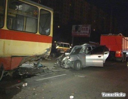 Жестокая авария в Киеве
