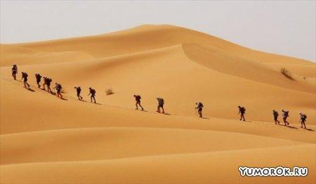 Марафон в марокканской пустыне