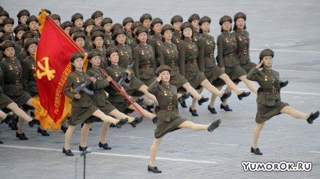 Парад корейской армии