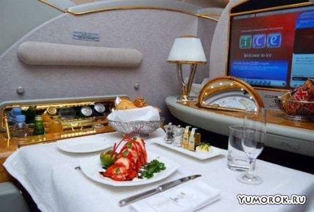 Чем кормят в самолетах