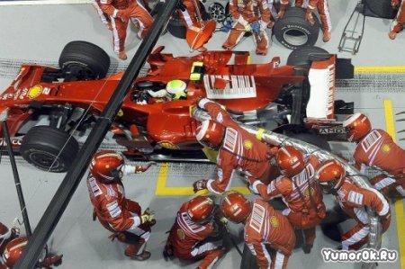 И такое бывает в Формуле-1