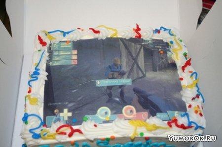Тортики на игровую тему