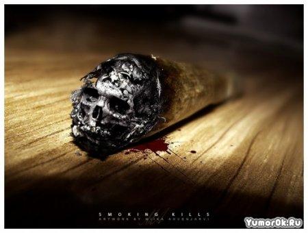 Социалки о вреде курения