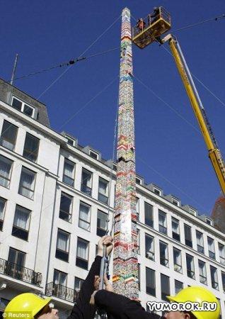 30 метровая башня из Лего