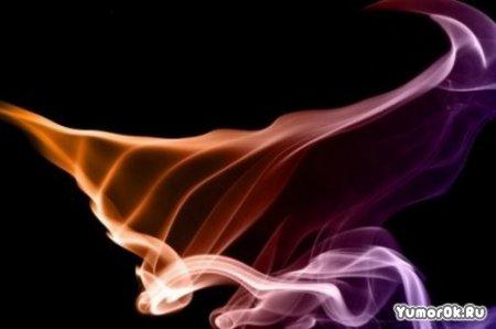 Рисунки из табачного дыма