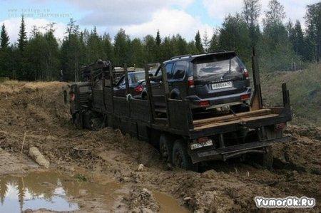 Такие дороги в республике Коми