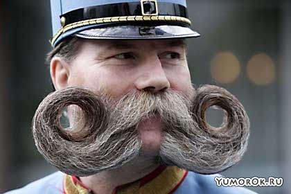Чемпионат мира по самым оригинальным бородам и усам