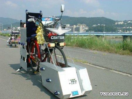 Конкурс тюнингованных велосипедов в Японии