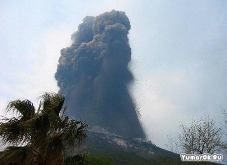 Землю распирает вулканами