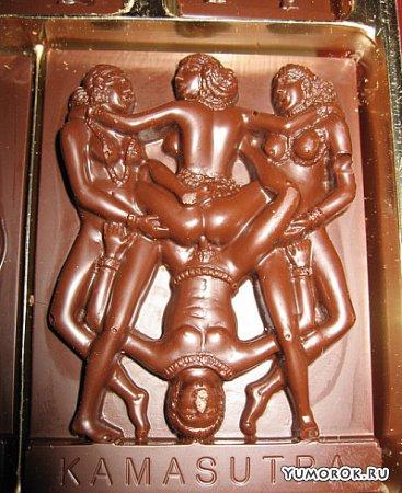 Интересный шоколад