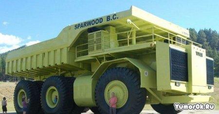 Самый огромный грузовик в мире - Terex Titan