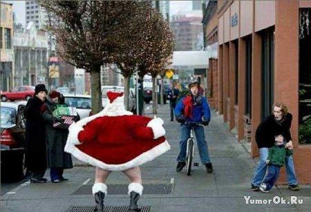 Санта-Клаусы захватывают мир