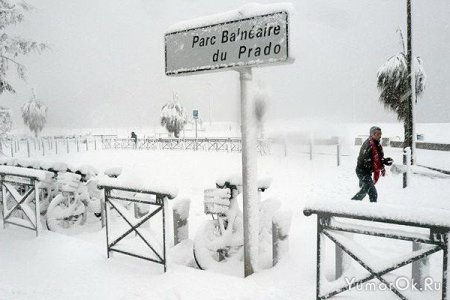 Зима в Европе