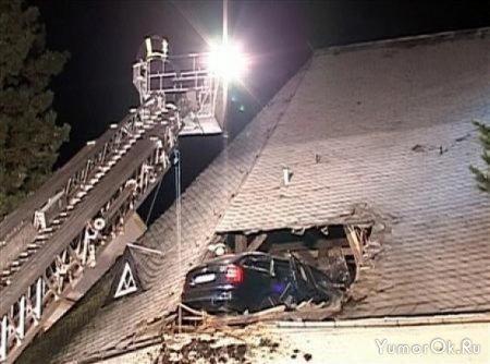 Это шкода на крыше церкви