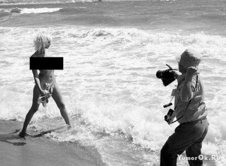 Случай на эротической фотосессии