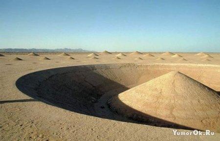 """Таинственная спираль """"Дыхание пустыни"""""""