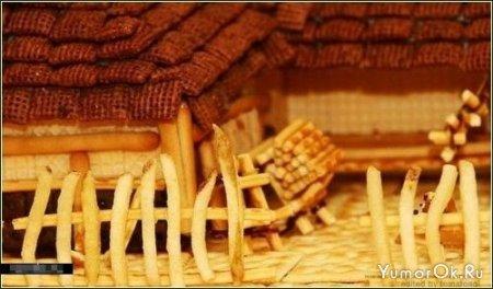 Вкусные домики