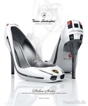 Туфли в стиле Ламборджини