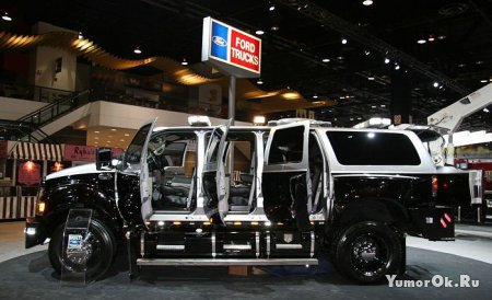 Ford представил огромный внедорожник для спецслужб