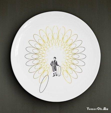 Креативные тарелки