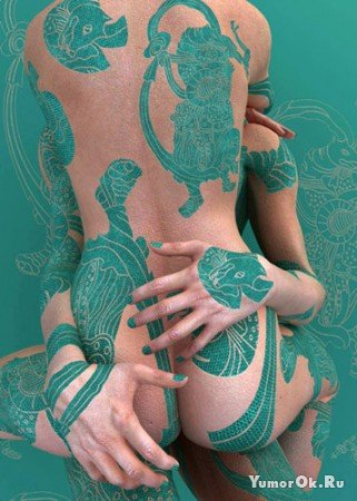 Body-art от Kim Joon
