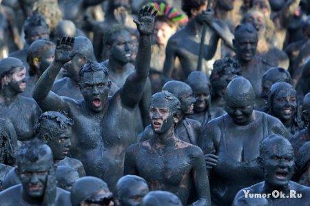 Бразильцы грязи не боятся