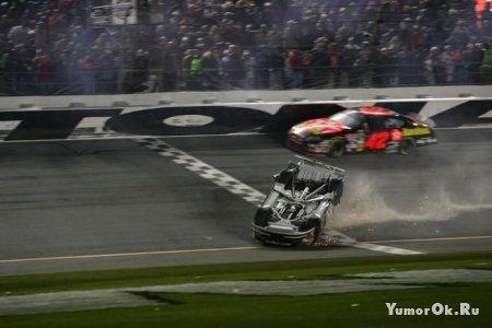 Аварии в NASCAR