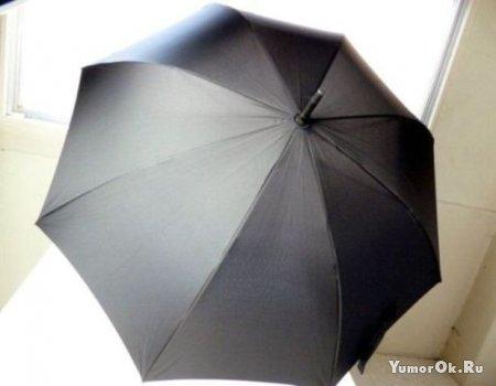 Зонтик настоящего самурая