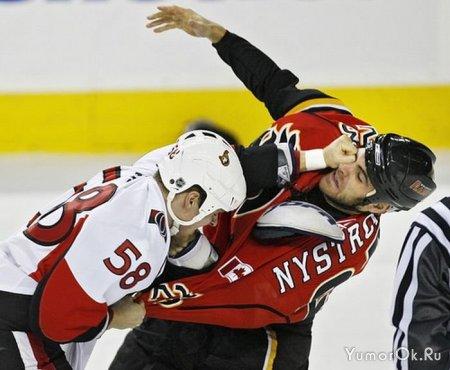 Разборки хоккеистов