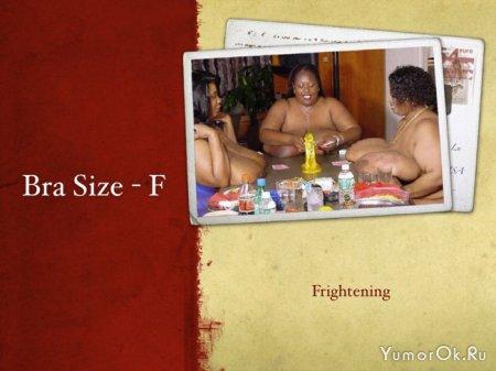 Как быстро запомнить размеры груди