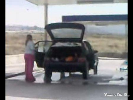 Мойка автомобиля по женски