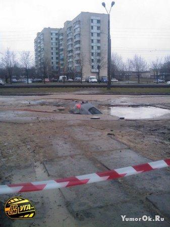 На украину пришла весна