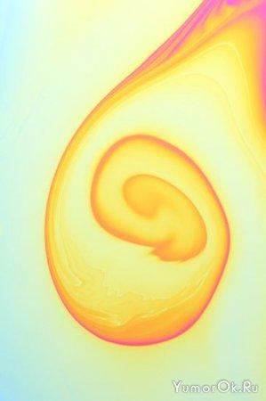 Макросъемка мыльных пузырей