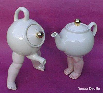 Забавные заварные чайники