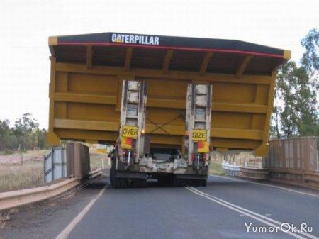 Угадайте, что перевозит грузовик?