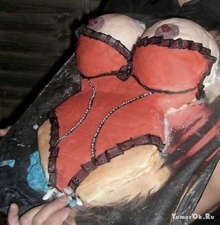 Торты в форме груди