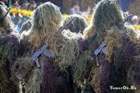Необычные военные парады
