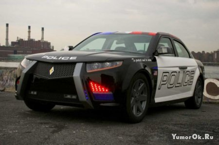 Новый полицейский автомобиль