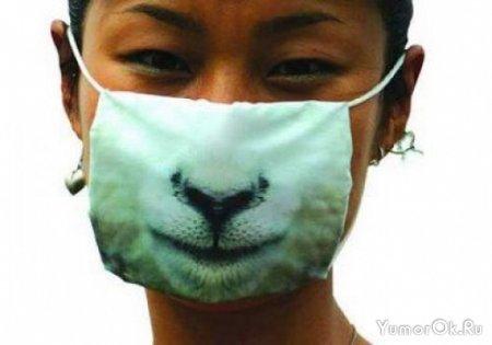 Креативная защита от свиного гриппа