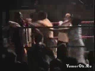 Мама вступилась за боксера