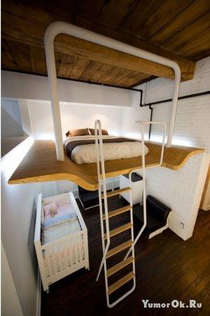 Хорошо продуманная спальня