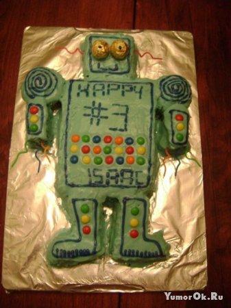 Тортики из роботов