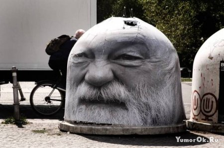 Уличный креатив