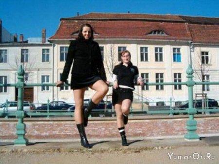 Очень высокие девочки