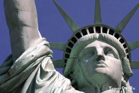 Статуя свободы. Вид изнутри