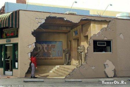 Классные рисунки на зданиях