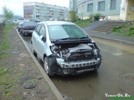Не оставляйте машины на ночь во дворах